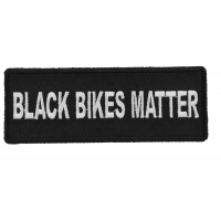 Black Bikes Matter Patch