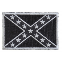 Black Rebel Flag Patch