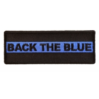 Black The Blue Police Patch