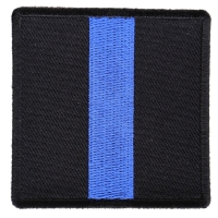 Blue Line Police Family Patch