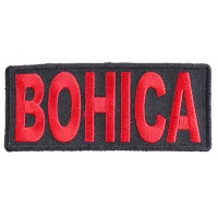 BOHICA Patch - Bend Over Here It Comes Again | US Marine Corps Military Veteran Patches