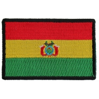 Bolivian Flag Patch