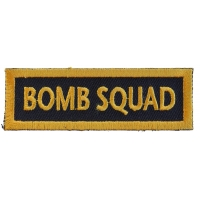 Bomb Squad Patch | US Army Military Veteran Patches