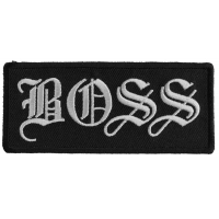 Boss Patch | Embroidered Patches