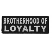 Brotherhood Of Loyalty Patch | Embroidered Patches