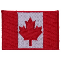 Canada Flag Patch Small | Embroidered Patches