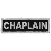 Chaplain Patch | Embroidered Patches