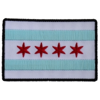 Chicago City Flag Patch