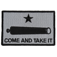 Come And Take It Cannon Star Patch