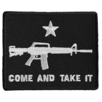 Come And Take It Star Machine Gun Patch | Embroidered Patches