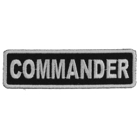 Commander Patch | Embroidered Patches