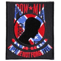 Confederate Pow Mia Patch | US Military Veteran Patches