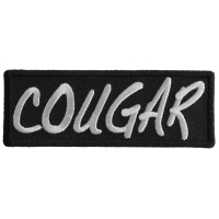Cougar Patch | Embroidered Patches