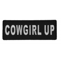 Cowgirl Up Patch | Embroidered Patches