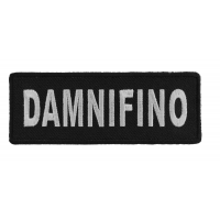 Damnifino Patch - Damn If I Know | Embroidered Patches