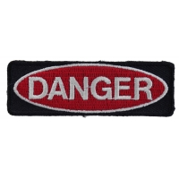 Danger Patch | Embroidered Patches