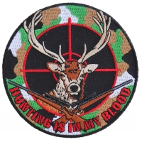 Deer Hunter Patch | Embroidered Patches