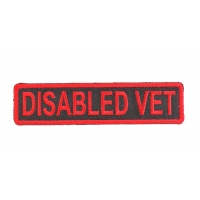 Disabled Vet Patch | US Military Veteran Patches