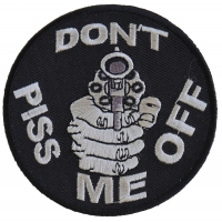 Do Not Piss Me Off With A Gun Patch | Embroidered Patches