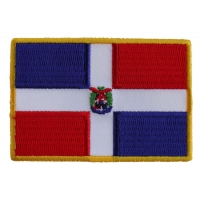 Dominican Republic Patch | Embroidered Patches