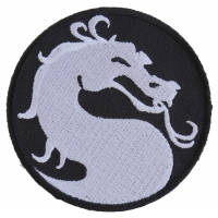 Dragon Patch Small Circular | Embroidered Patches