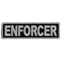 Enforcer Patch 3.5 Inch White