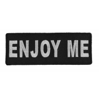 Enjoy Me Patch | Embroidered Patches