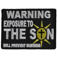 Exposure To The Son Patch | Embroidered Patches