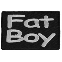 Fat Boy Patch | Embroidered Patches