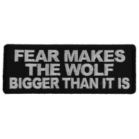 Fear Makes The Wolf Bigger Than it is Patch