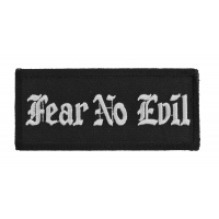 Fear No Evil Patch | Embroidered Patches