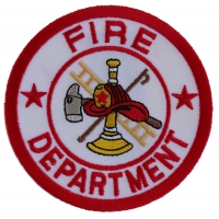 Fire Department Circle Patch | Embroidered Patches
