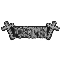 FORGIVEN Patch | Embroidered Patches