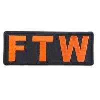 FTW Orange Patch