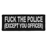 Fuck The Police Patch Except