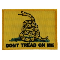 Gadsden Flag Don't Tread On Me Patch | US Military Veteran Patches