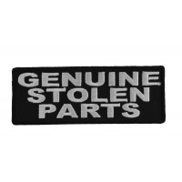Genuine Stolen Parts Patch