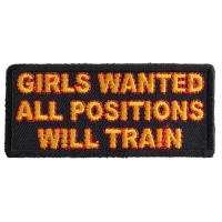 Girls Wanted Patch | Embroidered Patches