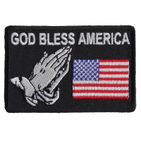 God Bless America Patch | Embroidered Patches