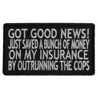 Got Good News Patch | Embroidered Patches