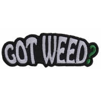 Got Weed Patch | Embroidered Pot Patches
