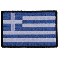 Greek Flag Patch