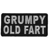 Grumpy Old Fart Patch | Embroidered Patches