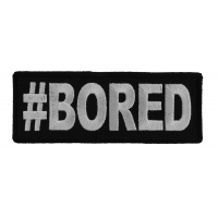 Hashtag Bored Patch