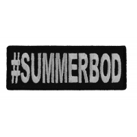 Hashtag Summerbod Patch