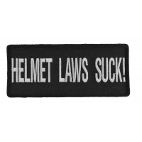 Helmet Laws Suck Patch