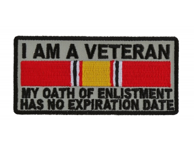 "Marine Oath of Enlistment Has No Expiration Date by Ivamis Trading 4/"" x 2/"" P5880"