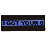 I Got Your 6 Police Patch