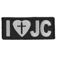 I Love JC Patch | Embroidered Patches