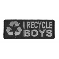 I Recycle Boys Patch